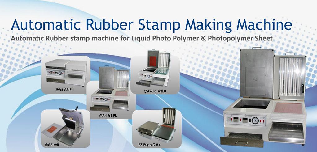 Flexo Autotmatic Rubber Stamp Making Machine