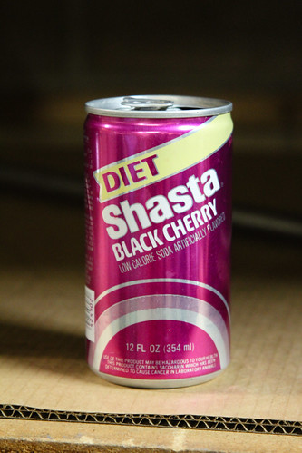 In the Studio With Eric Johnson - Diet Black Cherry Shasta | by Marshall Astor - Food Fetishist