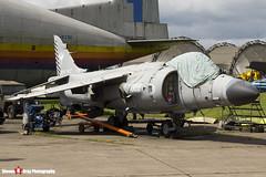 ZD610 002 N - XZ499 003 - 912049 P27 - Royal Navy - British Aerospace Sea Harrier FA2 - 140525 - Bruntingthorpe - Steven Gray - IMG_2020