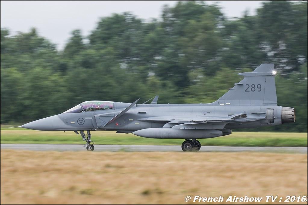 JAS-39 Gripen , Belgian Air Force Days 2016 , BAF DAYS 2016 , Belgian Defence , Florennes Air Base , Canon lens , airshow 2016