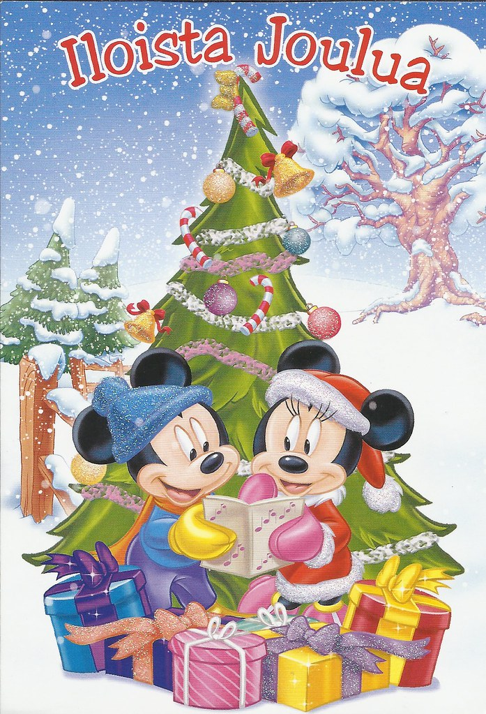 Disney Mickey & Minnie Mouse Christmas card | Adorable Micke… | Flickr