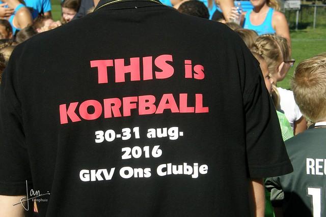 GKV Ons Clubje (2016) - Clinic Nederlands Korfbalteam