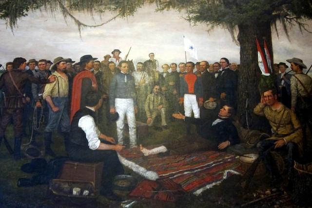 Austin Texas Capitol Surrender Of Santa Anna Flickr