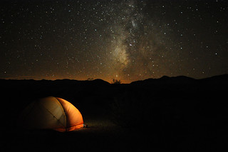 Camping in Death Valley | by Paxson Woelber