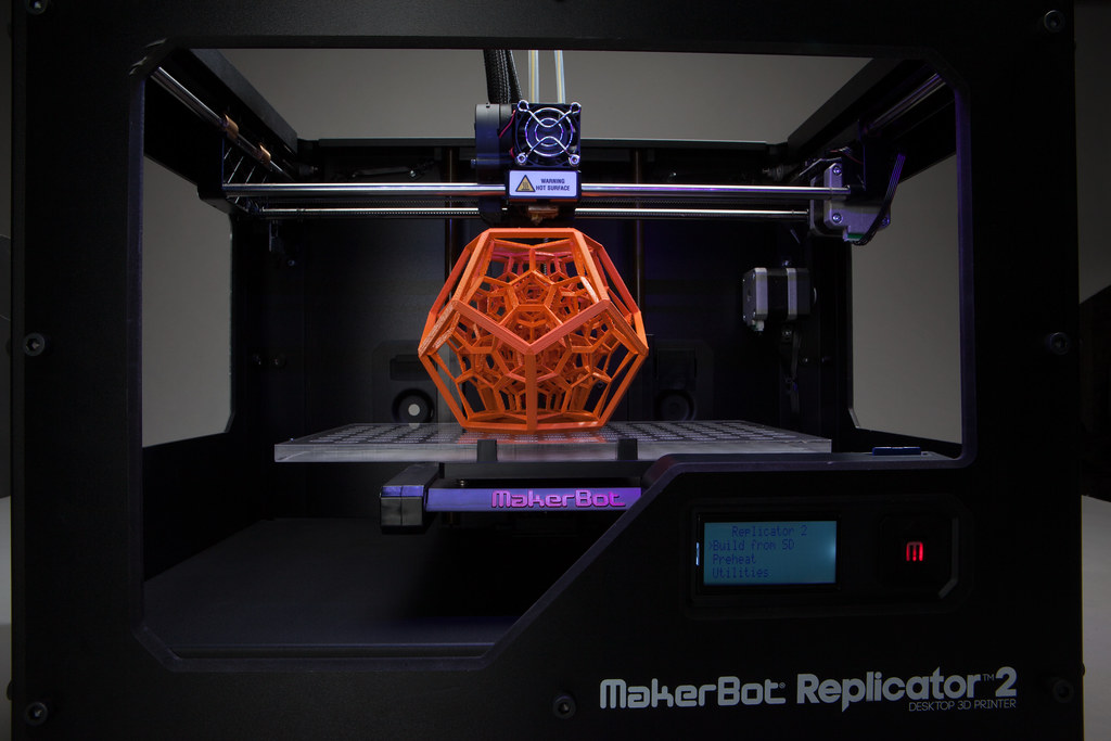 Makerbot Replicator  Flexable Print Bed