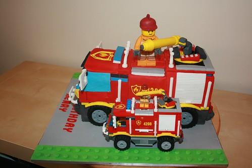 Fire Truck Cake Decorating Ideas