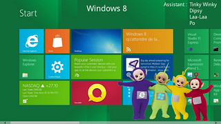 windows 8 teletubbies | by Henrique Carioca