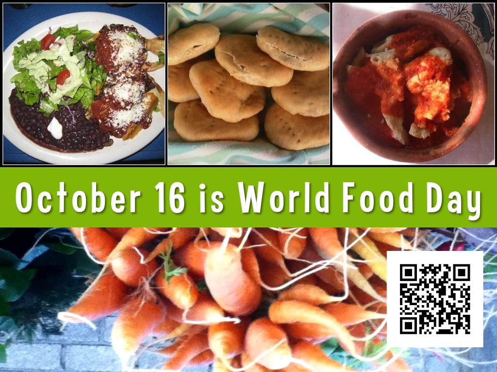 World Food Day is observed on 16th October