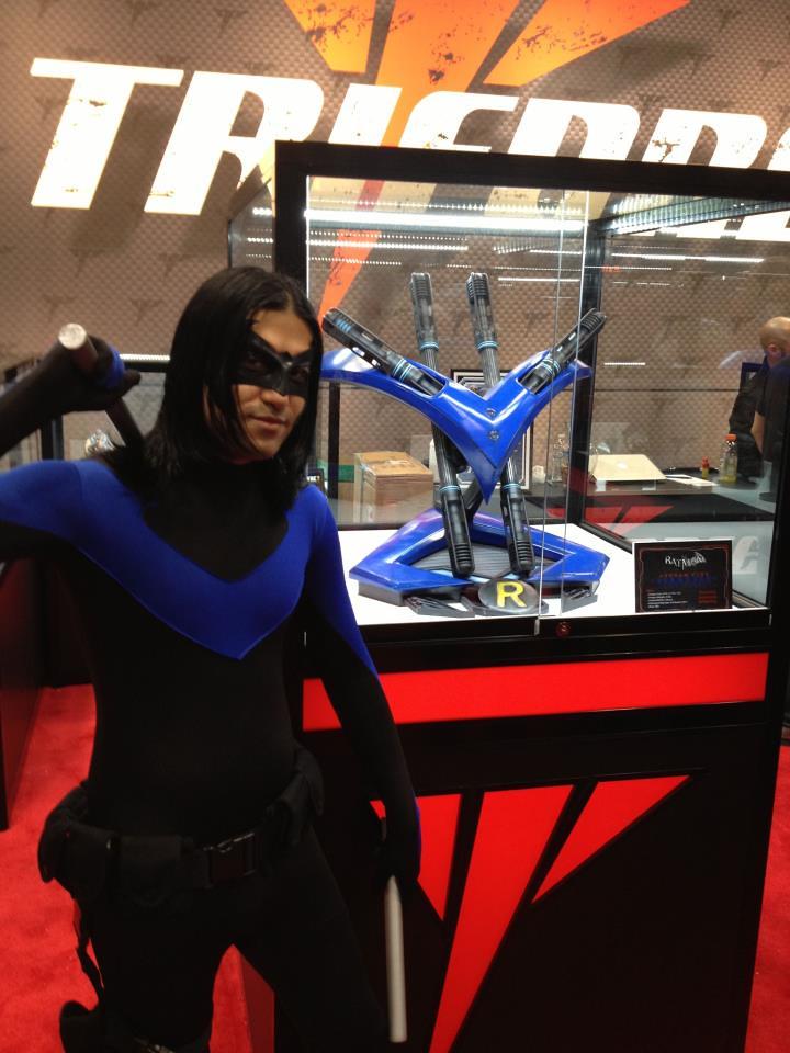 Batman Arkham City:Nightwing Escrima sticks | Project ...