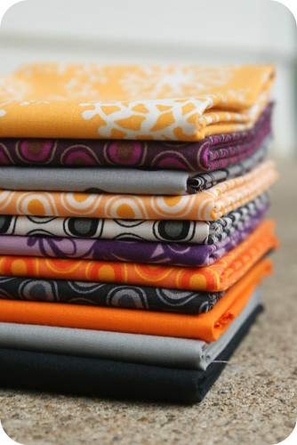 yummy halloweenish fabrics. | by rachelgriffith