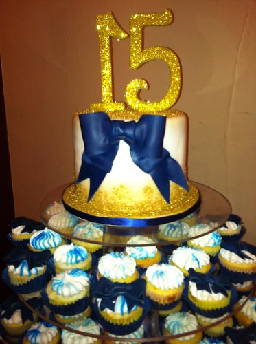 Sign InQuinceanera Cakes With Cupcakes