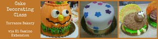 Cake Decorating Class - Torrance Bakery - El Camino College Extension | by Food Librarian