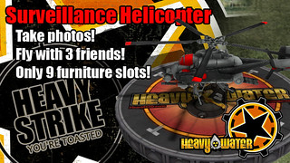 PlayStation Home: Heavy Water Heavy Strike Copter | by PlayStation.Blog