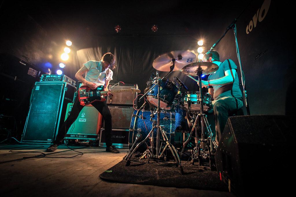 Concert de rock : Japandroids @ Covo Club à Bologne - Photo de Roberto Taddeo