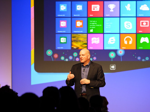 Windows 8 Launch - Steve Ballmer | by Dell's Official Flickr Page