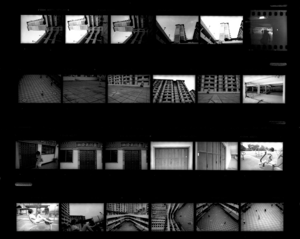 Quick guide to black and white photography part 8 contact sheet