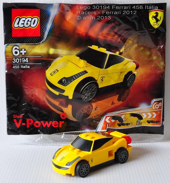 Lego Racers 30194 Ferrari 458 Italia