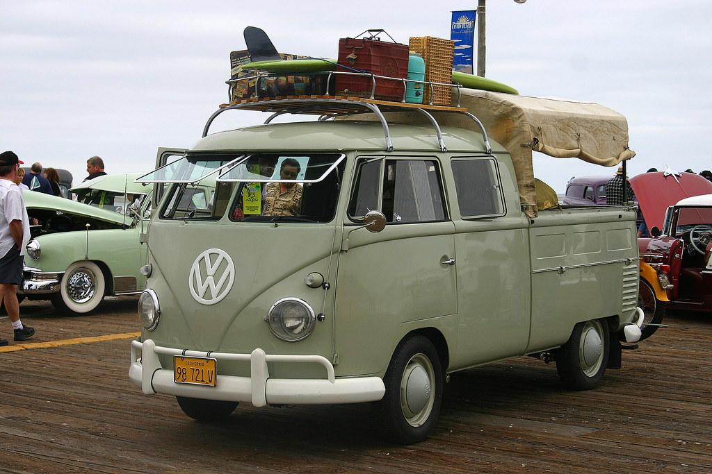vw camper van pismo beach california the volkswagen vw flickr. Black Bedroom Furniture Sets. Home Design Ideas