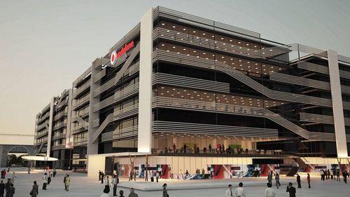 Solvia transforma una obra inacabada en la nueva sede co flickr - Banco sabadell oficina central ...