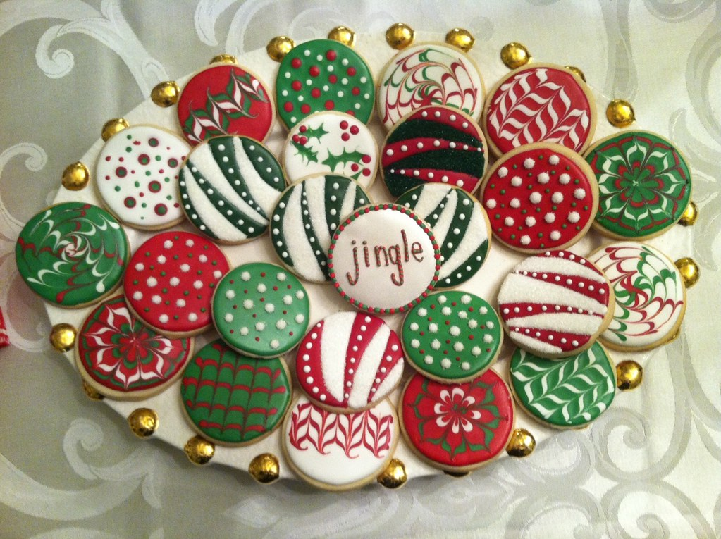 Christmas Ornament Cookies | Christmas Ornament Cookies ...