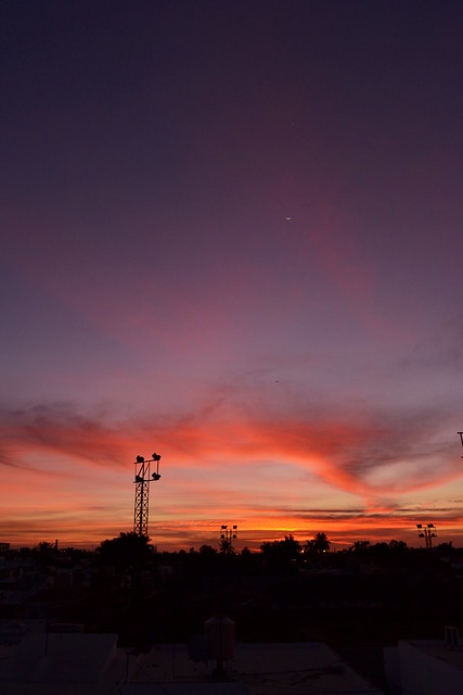 Culiacán red sunset