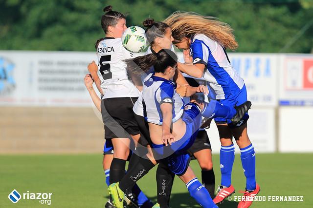 Copa Diputación. Deportivo Femenino - Victoria