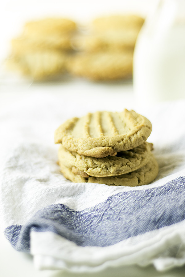 grandma's homemade peanut butter cookies