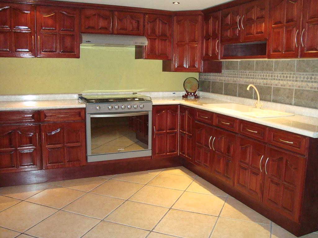 cocina de madera de cedro jj cocinas integrales flickr