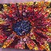Red Sunflower~Quilt by Susan Bianchi