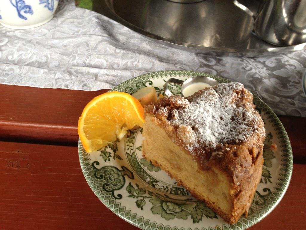 Best Apple Cake With Caramel Sauce Recipe