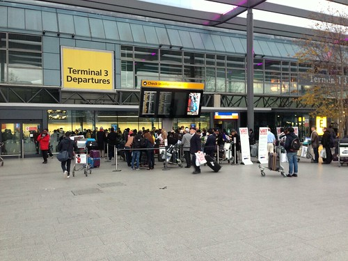 Britain is doing well! Check out that queue for VAT refunds | by Kai Hendry