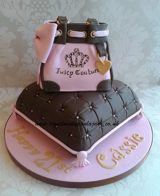 juicy couture pillow cake flickr photo sharing. Black Bedroom Furniture Sets. Home Design Ideas