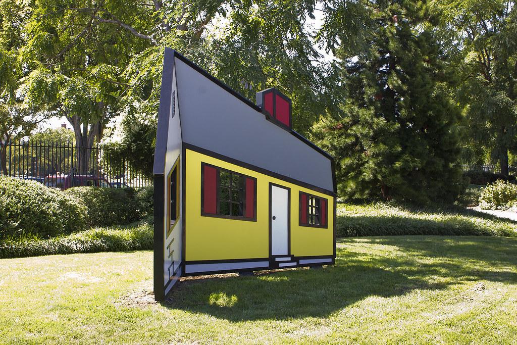 House 1 by Roy Lichtenstein   The Washington National Galler…   Flickr