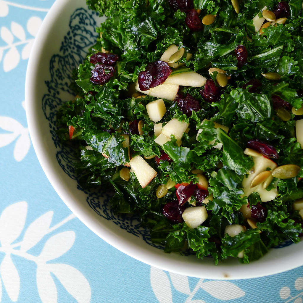 Kale Salad | My twist on the salad from Cookus Interruptus ...