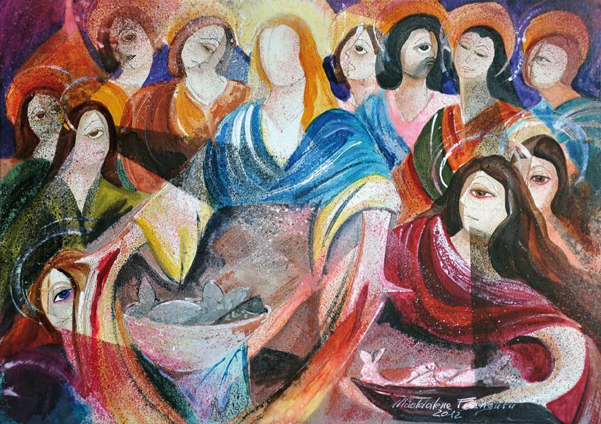 Stazione vi ges risorto appare agli apostoli sixth st - Immagini st patrick a colori ...
