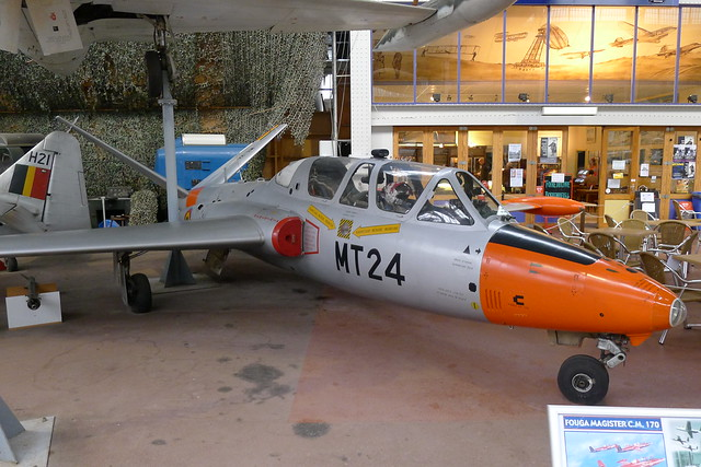 Fouga Magister C.M. 170