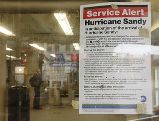 Hurricane Sandy Subway Shutdown New York | by MichaelTapp