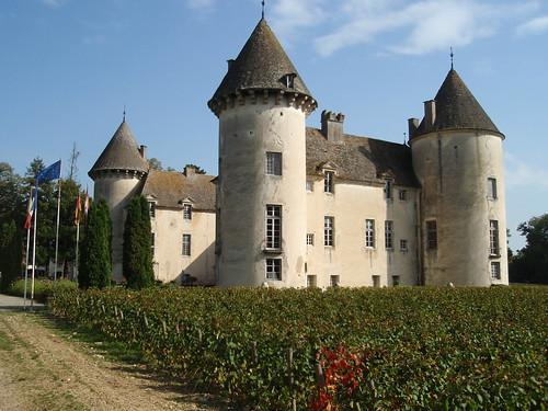 chateau savigny les beaune burgundy france a great chateau flickr. Black Bedroom Furniture Sets. Home Design Ideas