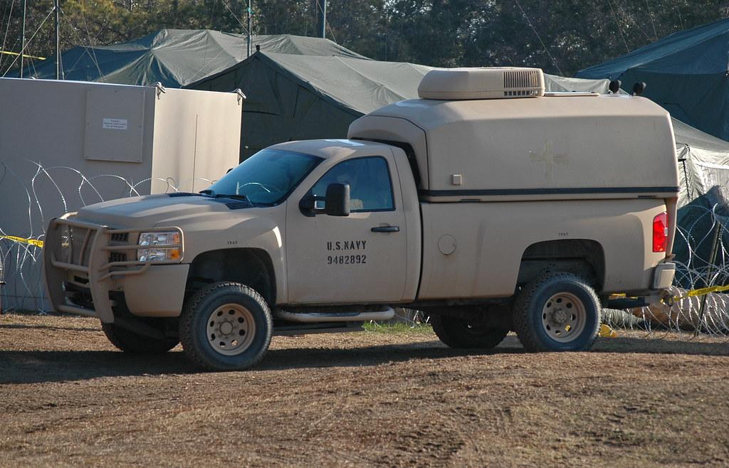 US Navy Light Service Support Vehicle (LSSV) Pickup | Flickr