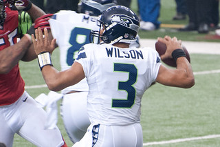 Russell Wilson | Seattle Seahawks | by Seatacular