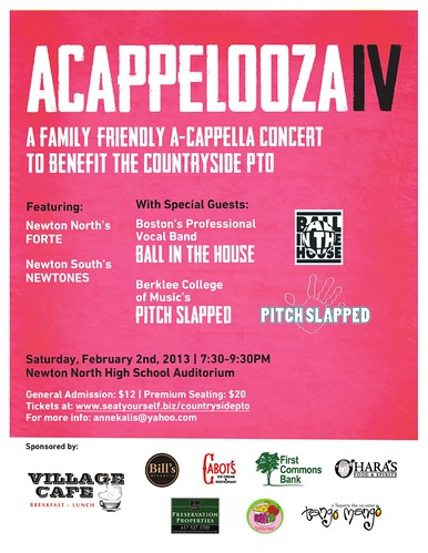 acappelooza Poster | by ballinthehouse