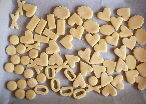 Cookie Dough Shapes | by Bakerella