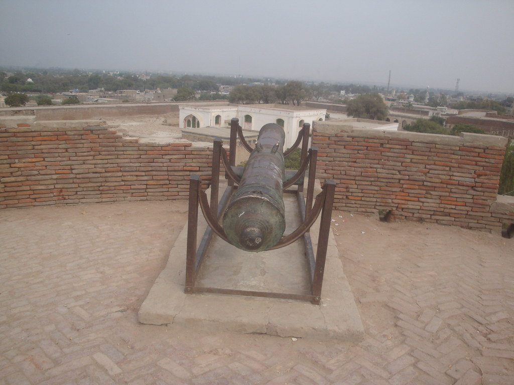View From The Top Of Umerkot Fort Sindh Babar Hafeez Qureshi Flickr