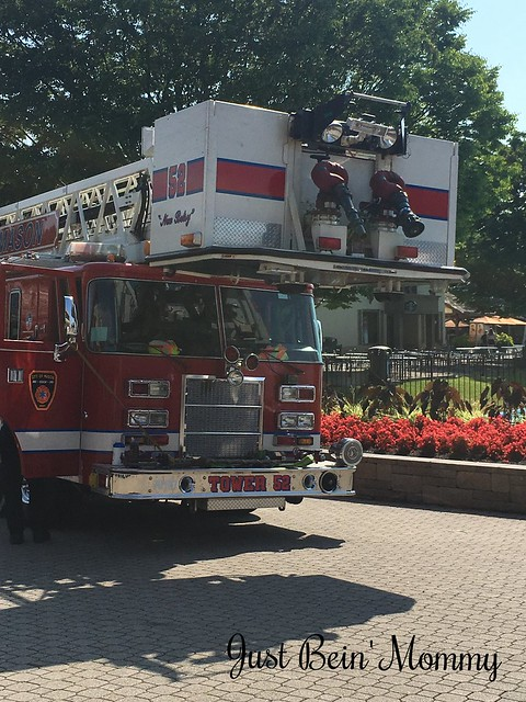 Fire Truck at Kings Island