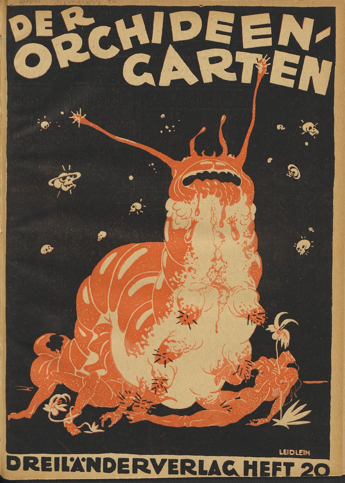 Der Orchideengarten - 1920 (Cover 19)
