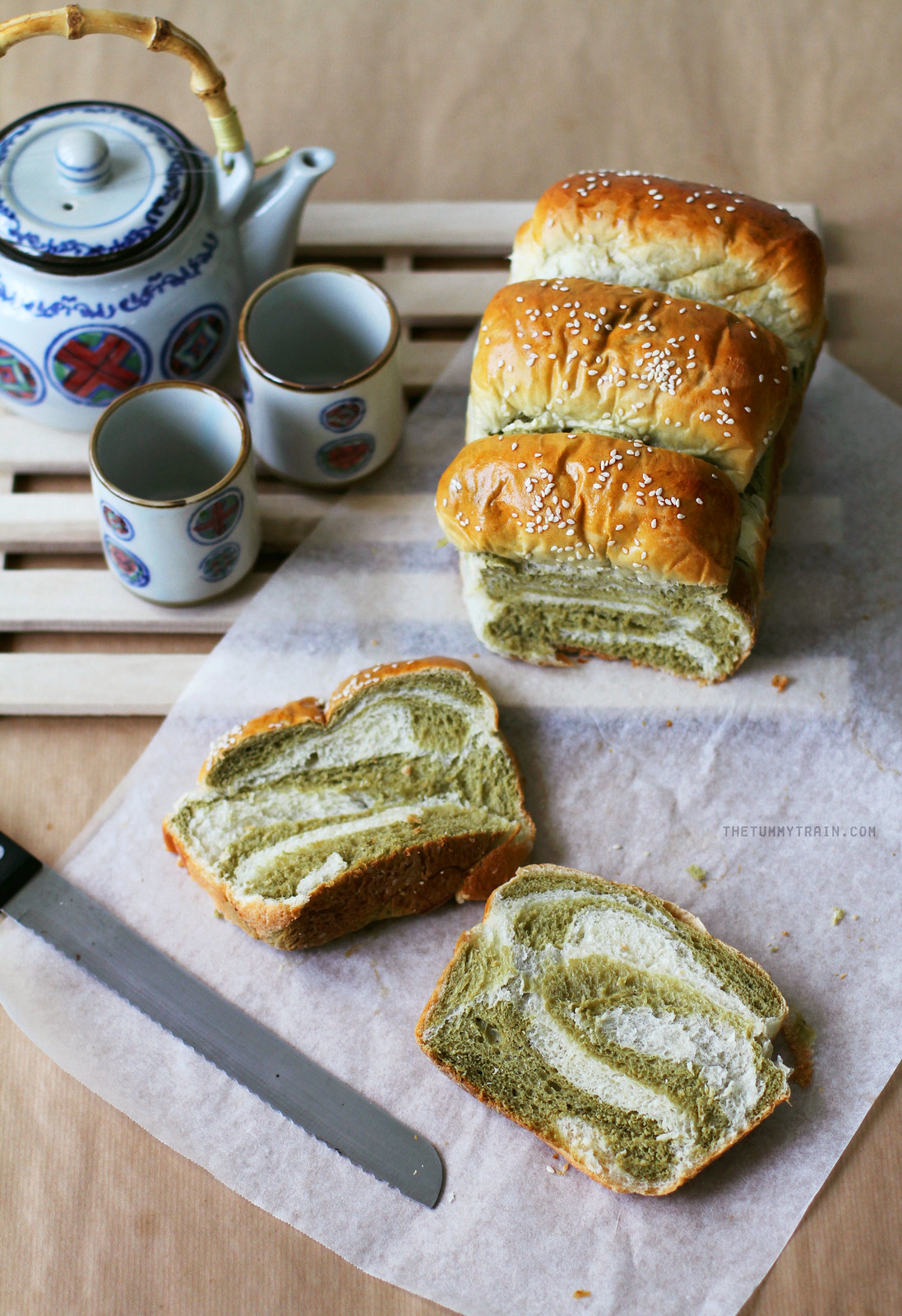 29521345720 3105f29b89 h - The pleasures of making a Matcha-Milk Tangzhong Bread [VIDEO]
