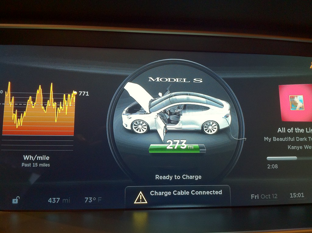 Tesla Series S Dashboard Wesley Fryer Flickr