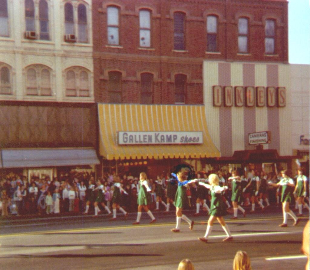1970s Downtown Christmas Parade Ogden Utah 70 77