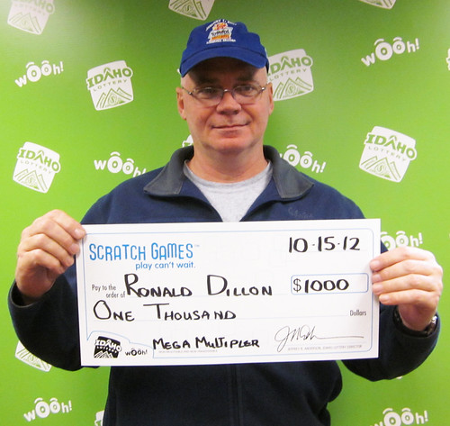 Ronald Dillion - $1,000 Mega Multiplier | by Idaho Lottery