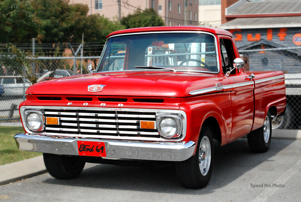 1964 Ford F 100 Pickup Here S A 1964 Sporting A 1963